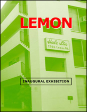 Lemon: Inaugural Exhibition by LG Williams