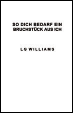 So Dich Dedard Ein Sruchstuck by LG Williams